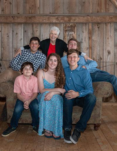 Bridget Havercroft Photography, Grandchildren, Grandma, Grammy, Barn, Family