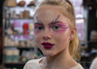 Magical photos of young teens having had a fantasy teen make-up makeover